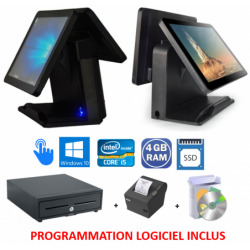 PACK CAISSE DOUBLE SCREEN i5