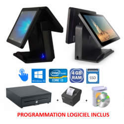 PACK CAISSE DOUBLE SCREEN i3