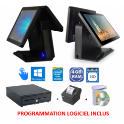 PACK CAISSE DOUBLE SCREEN...